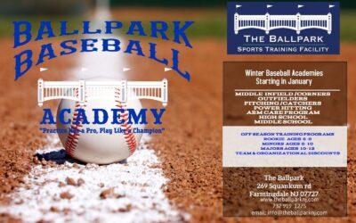 The Ballpark Baseball Academy