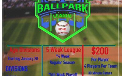 HitTrax Ballpark League