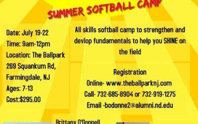 Summer Softball Camps
